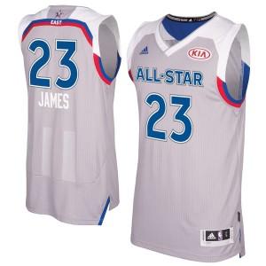 Herren Eastern Conference LeBron James Adidas grau 2017 NBA All-Star Game Swingman Trikot