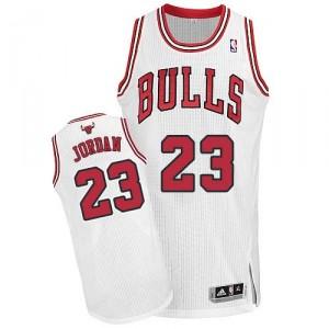 NBA-Michael Jordan authentische Jugend weißes Trikot - Adidas Chicago 23-Zuhause Bulls