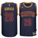 Kyle Korver Cleveland Cavaliers &26 neue Swingman Alternative Marine Trikot