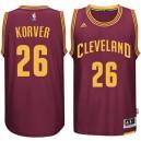 Kyle Korver Cleveland Cavaliers &26 neue Swingman Straße Wein Trikot