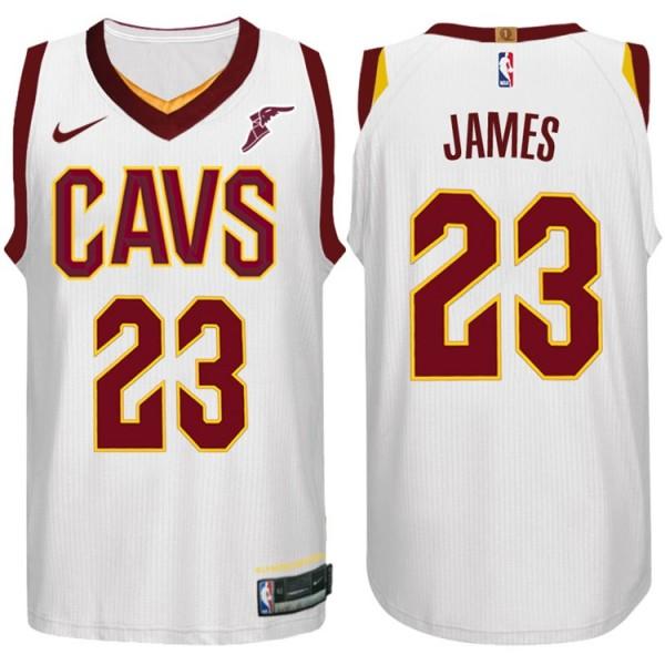 quality design 2ec84 baf43 2017-18 Saison Lebron James Cleveland Cavaliers 23 ...