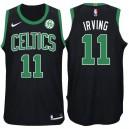 Saison Kyrie Irving Boston Celtics #11 Aussage ge schwarze Trikots