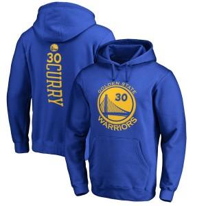 Herren Golden State Warriors Stephen Curry Royal Rebellen Pullover Hoodie