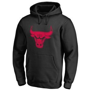 Mann Chicago Bulls Schwarz Taylor Pullover Hoodie