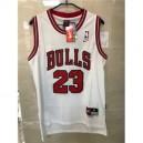 2017-18 Saison Michael Jordan Chicago Bulls &23 Icon weiß Trikots