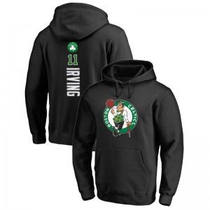 Boston Celtics Kyrie Irving # 11 Backer Pullover Schwarz Hoodie