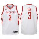 Jugend Houston Rockets ^ 3 Chris Paul White Swingman Trikot-Association Edition