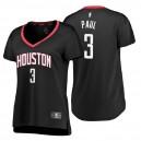 Fanatics Branded Houston Rockets für Frauen ^ 3 Chris Paul Statement Edition Black Replica Jersey
