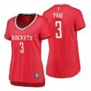 Fanatics Branded Houston Rockets für Frauen ^ 3 Chris Paul Icon Edition Red Replica Jersey