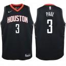 Jugend Houston Rockets ^ 3 Chris Paul Black Swingman Jersey - Statement Edition