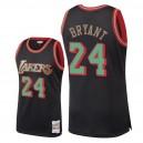 Los Angeles Lakers für Herren ^ 24 Kobe Bryant Christmas Classics Swingman Jersey - Schwarz