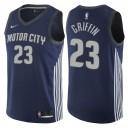 Detroit Pistons für Herren ^ 23 Blake Griffin City Edition Marine Swingman Jersey