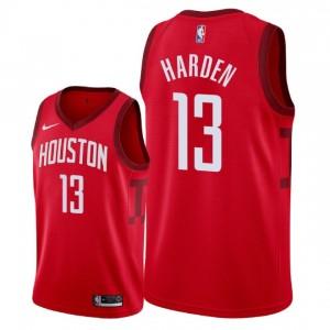 Herren Houston Rockets # 13 James Harden Swingman Trikot - Rot erhalten