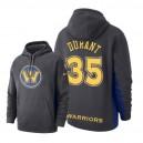 NBA-Männer Golden State Warriors ^ 35 Kevin Durant - Hoodie mit Kapuze - Grau