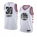 Golden State Warriors ^ 30 Weiß Stephen Curry 2019 All-Star Game Swingman Jersey Herren