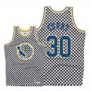 Mitchell & Ness - Golden State Warriors für Herren ^ 30 Stephen Curry - Schachbrett - Weiß