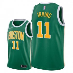 Männer Boston Celtics # 11 Kyrie Irving Swingman Trikot-Green errungen