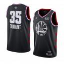 Golden State Warriors ^ 35 Schwarzes Kevin Durant 2019 All-Star Game Swingman Jersey Herren
