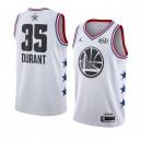 Golden State Warriors ^ 35 Weißes Kevin Durant 2019 All-Star Game Swingman Jersey Herren