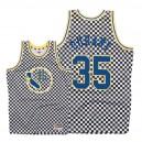 Mitchell & Ness - Golden State Warriors für Männer ^ 35 Kevin Durant - Schachbrett-Trikot - Weiß