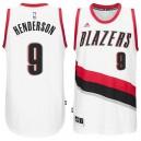 Gerald Henderson Portland Trail Blazers &9 New Swingman Home White Jersey