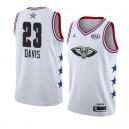 New Orleans Pelicans ^ 23 White Anthony Davis 2019 All-Star-Spiel Swingman Beendet Jersey Men
