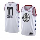 Dallas Mavericks ^ 77 Weißes Luka Doncic 2019 All-Star-Spiel Swingman Beendet Jersey Men