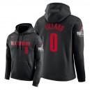 NBA Herren Portland Trail Blazer ^ 0 Damian Lillard City Edition Hoodie - Schwarz