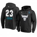 Chicago Bulls ^ 23 Michael Jordan Black Männer 2019 All-Star Hoodie