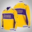 LeBron James Los Angeles Lakers ^ 23 Gold Icon-Jacke für Herren