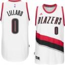 Portland Trail Blazers Damian Lillard 2014-15 New Swingman Home White Jersey