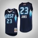 Mitchell & Ness LeBron James Cavaliers für Männer ^ 23 2009 NBA All-Star-Navy-Swingman-Trikot