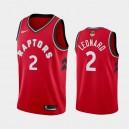 Männer-Toronto Raptors &2 Kawhi Leonard rot 2019 NBA-Finale