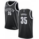 Brooklyn Nets &35 Kevin Durant NBA Swingman schwarz Trikot