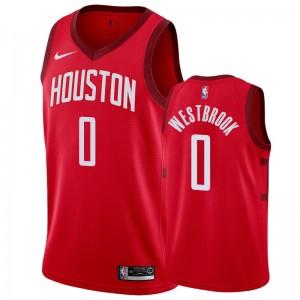 Houston Rockets Russell Westbrook #0 verdientes Herren Trikot