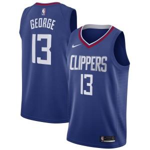 Nike Paul George LA Clippers Blau 2019/20 Swingman Trikot – Icon Edition