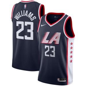 Nike Lou Williams LA Clippers Swingman-Trikot in der Navy City Edition