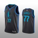 Dallas Mavericks &77 Luka Doncic Herren City Edition - schwarzes Trikot