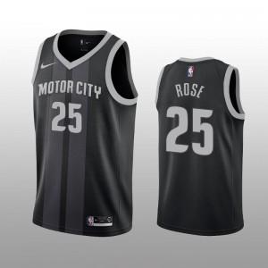 Derrick Rose Detroit Pistons Trikot 2019-20 City Auflage
