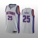 Detroit Pistons Derrick Rose Grau Swingman Statement Auflage Trikot
