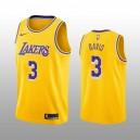 Los Angeles Lakers Anthony Davis Golden 2019-20 Symbol Auflage Trikot