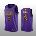 Los Angeles Lakers Anthony Davis Lila Trikot 2019-20 City Auflage