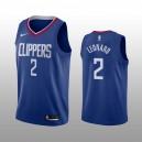 Los Angeles Clippers Kawhi Leonard Blau Swingman Symbol Auflage Trikot