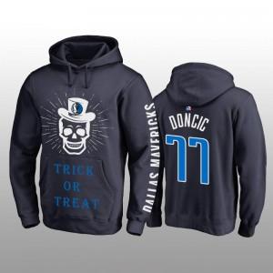 Luka Doncic Dallas Mavericks Marine Halloween Trick oder behandeln Pullover Hoodie