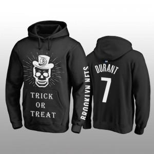 Brooklyn Nets Kevin Durant Black Trick oder behandeln Pullover Hoodie