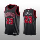 Herren Michael Jordan Chicago Bulls Trikot 2019-20 Schwarz Aussage Auflage