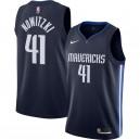 Nike Dirk Nowitzki - Dallas Mavericks Navy - Fertiges Swingman-Trikot - Statement Edition