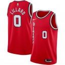 Nike Damian Lillard - Portland Trail - Blazer - Klassiker aus rotem Hartholz - Fertiges Swingman-Trikot
