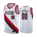 Carmelo Anthony Portland Trail Blazer Association Edition Herren Trikot - Weiß