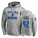 Dallas Mavericks Maxi Kleber Ash Pullover Sieg Arch Hoodie